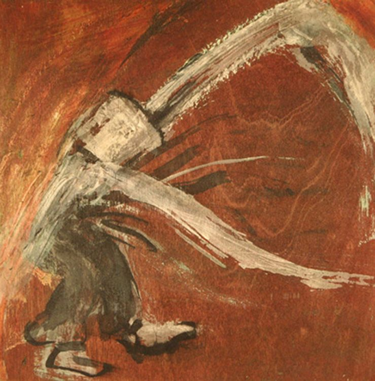 monk_dance_v_8x8_inches_acrylic_on_board_2011.min
