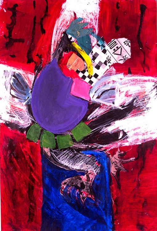 Flying_Bird_36_in_X_24_in_Mixed_media_on_paper__1-min-min