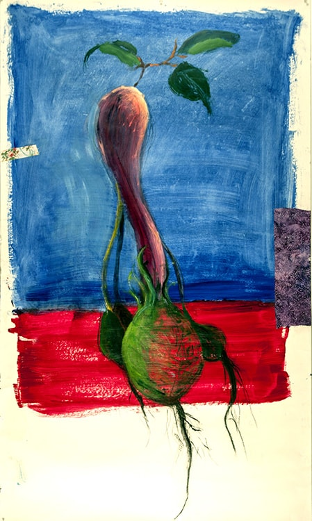 Mr_Green_Onion's_True_Color_62_in_X_36_in_Mixed_media_on_paper-min