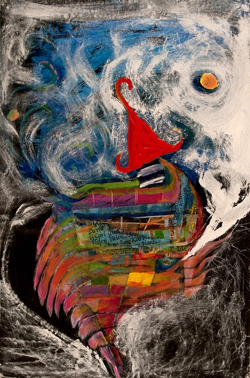 My_House_Under_the_Moon_36_in_X_24_in_Mixed_media_on_paper-min