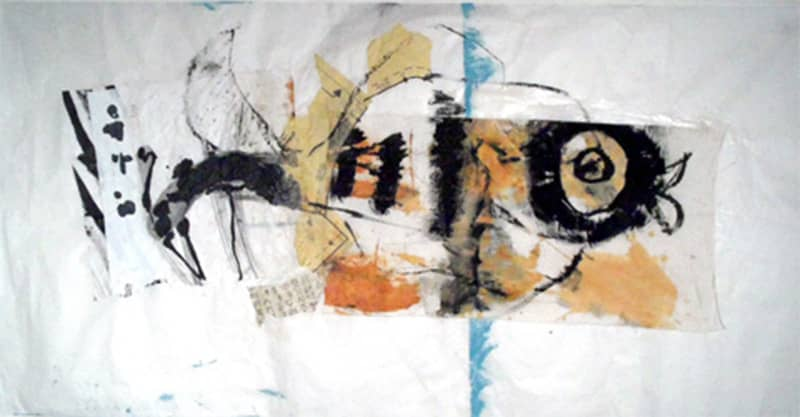 fish_queen_27x54_inches_mixed_media_on_rice_paper_2011-min
